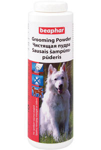 Пудра чистящая Grooming Powder для собак (Беафар), фл. 150 г