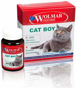 WOLMAR WINSOME Cat Boy, уп. 180 и 360 таб.