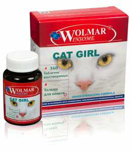 WOLMAR WINSOME Cat Girl, уп. 180 и 360 таб.